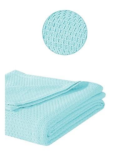 Alla Turca Çift Kişilik Lux Pike Seti-Mavi/Beyaz Mavi